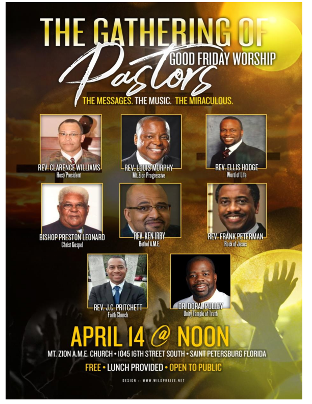 The Gathering Of Pastors